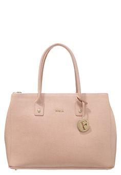 Eine elegante Tasche, nicht nur fürs Büro! Furla LINDA - Handtasche - moonstone/white für SFr. 390.00 (16.05.16) versandkostenfrei bei Zalando.ch bestellen.