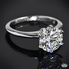 Vatche 6 Prong Solitaire Engagement Ring with 2.394ct A CUT ABOVE