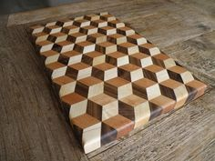 Woodworking - Making a  3d Tumbling cutting board - YouTube