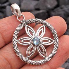 Silver /& enamel flower design ring Indian vintage green oval rainbow 925 India hindu red blue
