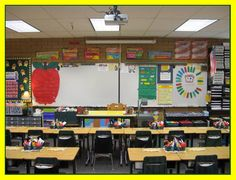 A very organized classroom