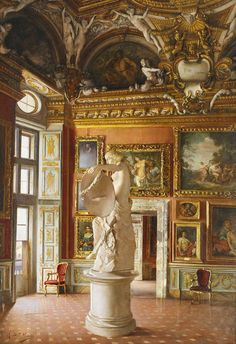 Arts And Crafts House Style Info: 9660073132 Classical Architecture, Amazing Architecture, Art And Architecture, Architecture Details, Versailles, Palazzo, Palace Interior, Italy Holidays, Italian Villa