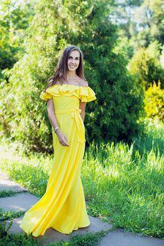 Model Ukraine dress