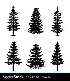 pyrography pine tree patterns - Google Search More