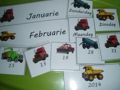 Afrikaans Truck calender cards - days of week, months and dates Make A Timeline, Days Of Week, Afrikaans Quotes, Napoleon Hill, Worksheets For Kids, Animal Quotes, Blogger Themes, Celebrity Weddings, Success Quotes