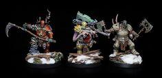 Nurgle Blight Kings, 2015. Games Workshop. Sci Fi Miniatures, Warhammer Fantasy, Dark Fantasy, Minis, Snow Globes, Workshop, Models, Age, Templates