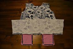 Nuuneli: Taskutunika tytölle ja pieni ohje siihen :) Two Piece Skirt Set, Summer Dresses, Skirts, Fashion, Moda, Sundresses, La Mode, Skirt