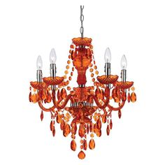 AF Lighting Elements Fulton 5 Light Chandelier - 8522-5H