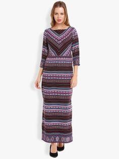 Folklore Women's Maxi Pink, Light Blue Dress