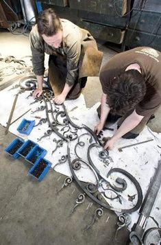 Creating railing