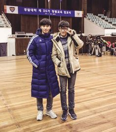 Park Seo Joon and Kang Ha Neul's new movie, 'Young Cops' held their first day of shooting! The two actors had their exciting first day of sho… Korean Drama Tv, Drama Korea, Korean Actors, Kang Ha Neul Smile, Choi Daniel, Kang Haneul, Actor Quotes, Park Seo Joon, Drama Tv Shows