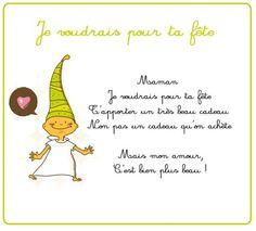 petit poeme pour la fete des meres !!