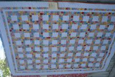 This is a great idea for using up scraps!  From American Quilting's 2011 Garden Party