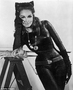 Julie Newmar was the original, and to some Batman fans, the only Catwoman -  playing the first feline villain in the 1960s TV series alongside Adam West and Burt Ward as Batman.