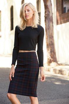 Buy New Look Womens Slinky Rib Crop | Shop Tops Womenswear at the BrandStore EziBuy AU