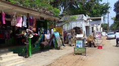Shops. Malindi Centre.