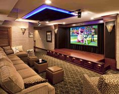 Actually media room can be more than just about movie. It may also refer to, home theater room, television room, game room and other designated bonus room for entertainment.