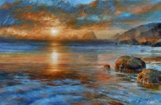 Beautiful Landscape Paintings Canvas   Landscapes And Glamour Oil Paintings By Arthur Braginsky