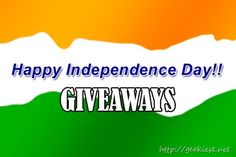 Indian Independence day Giveaways - Android Phone and Goodies Giveaways for Indian twitter users