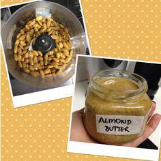 Dra Fernanda Granja Nutricionista Funcional: Receita Fit by Thais Massa - Manteiga de amêndoas caseira #massateam