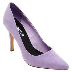 Women's Mercer Vivienne Pointed Toe Pump too purple?