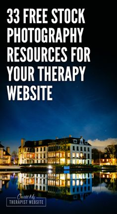 33 FREE Stock Photography Resources for Your Therapy Website - there is an ever growing list of fantastic websites that can supply you with all the stock photos you'll need for your private practice blog, website, or social media – for FREE. Having a free image directory will save you hours of searching and help you find the most relevant photos for your content marketing.