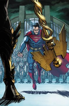 INJUSTICE: GODS AMONG US YEAR FOUR #6 Written by BRIAN BUCCELLATO Art by MIKE S. MILLER Cover by NEIL GOOGE