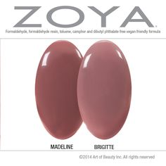 No Dupes Here! Zoya Madeline and Brigitte