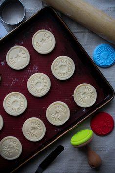 Stamp Cookies كوكيز اسكتلندي بالفانيلا