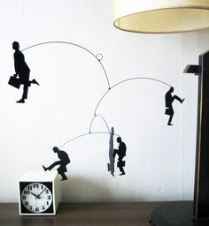 Ministry of Silly Walks inspired mobile.
