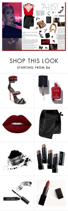 """""""I don't know how to talk to you I just know I find myself getting lost with you"""" by ashlee-lynn ❤ liked on Polyvore featuring Giuseppe Zanotti, Chanel, Lime Crime, Missoni, Bobbi Brown Cosmetics, Garance Doré and NARS Cosmetics"""