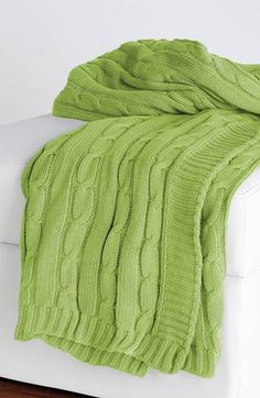 cheaper than overstock?? weird Rizzy Home Cable Knit Throw | Nordstrom
