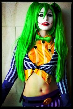 female joker Super Hot Cosplay: 12 Images To Get You In The Mood To Play Dress Up Female Joker Cosplay, Female Clown, Batman Cosplay, Cute Cosplay, Best Cosplay, Cosplay Girls, Awesome Cosplay, Pet Costumes, Cosplay Costumes