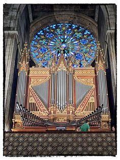 Organ Iglesia Sta Eulalia, Palma, Mallorca