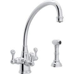 Kitchen faucet with OPTION TO DISPENSE FILTERED WATER!!
