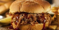 Shave fat and calories from your favorite pulled pork recipe by swapping a pork sirloin roast for the pork shoulder roast that's traditionally used....