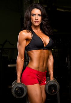 Her arms! Amanda Latona - IFBB Bikini Pro and fitness model. Bikini Fitness, Bikini Workout, Fitness Inspiration, Motivation Inspiration, Model Training, Fitness Photoshoot, Muscular Women, Fitness Photography, The Bikini