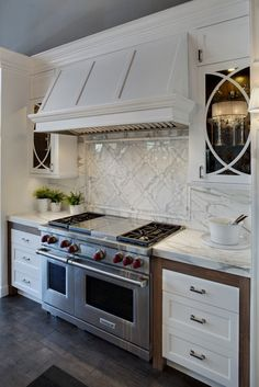 Kitchen Photos Marble Backsplash Design, Pictures, Remodel, Decor and Ideas - page 3