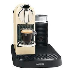 Nespresso MagiMix Citiz coffee pod machine with aeroccino for cappuccino & latte. Nespresso Club, Machine Nespresso, Home Coffee Machines, Smartphone, Best Coffee Maker, Home Coffee Stations, Cappuccino Machine, Cafetiere