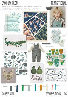 Spring/Summer 2016 - Younger Boys Fashion - Creature Craft Trend