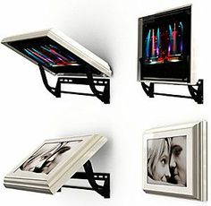 Good Ideas For You | Hide Your TV This is a cool idea for the kids rooms also!