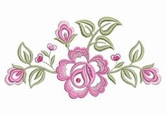 Dainty Roses 1 - 2 Sizes! | What's New | Machine Embroidery Designs | SWAKembroidery.com Ace Points Embroidery