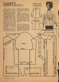 Enid Gilchrist's Dolls Clothes - Shirts for Ken