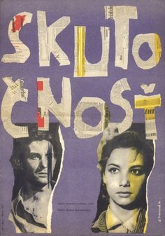 Richard Fremund, Reality, poster for a Polish film, Czechoslovakia, 1961. From the essay: In Praise of the East European Film Poster