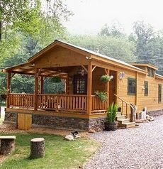 Modular Log Cabins...The Most Complete Of All Prefabs To Arrive On Site!