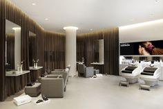 2nd treatment area Beauty Salon Interior, Surabaya, Conference Room, Table, Furniture, Home Decor, Salon Interior, Decoration Home, Room Decor