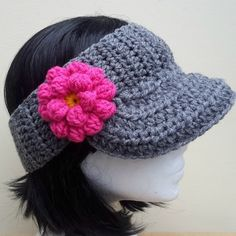 Crochet hats are a perfect last minute winter gift, they are fast to make and look great !