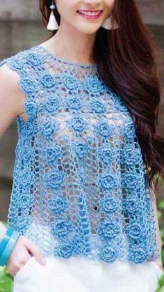 Crochet Sphere - Easy to Crochet diagonal shells cowl (Subtitulos en Español) Gilet Crochet, Crochet Blouse, Cotton Crochet, Irish Crochet, Crochet Shawl, Crochet Lace, Crochet Stitches, Crochet Pincushion, Easy Crochet