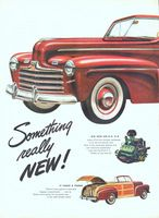 Ford Sportsman's Convertibles 1946 Ad Picture