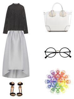 """Grace"" by zoechengrace on Polyvore featuring Zara, Christian Louboutin, Gianvito Rossi and Retrò"